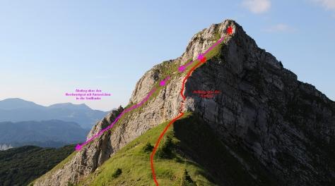 Torkopf mit Route
